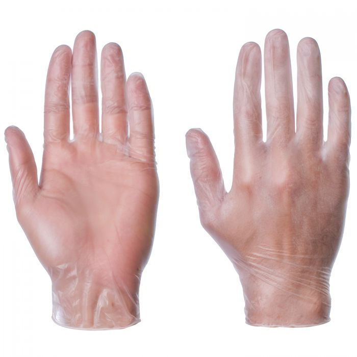 Image result for vinyl powdered gloves
