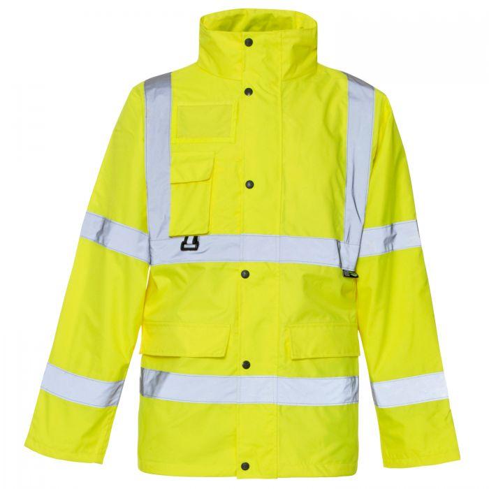Yellow SUPERTOUCH Hi-Vis Rainsuit