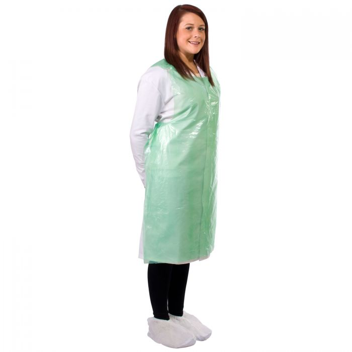 Disposable Blue Flat Pack of 100 Aprons Amazing Quality Great Price Fantastic...
