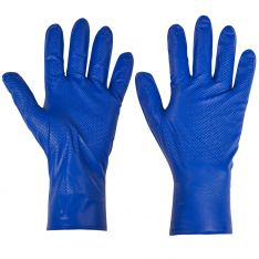 Supertouch PG-900 Blue Fish Scale Nitrile Disposable Glove