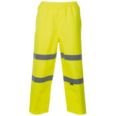 Supertouch Hi Vis Yellow Breathable Trousers
