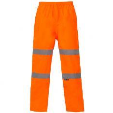 Supertouch Hi Vis Orange Breathable Trousers