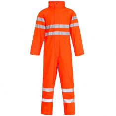 Storm-Flex® Hi Vis Orange PU Coverall