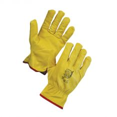 Supertouch Leather Driving Gloves