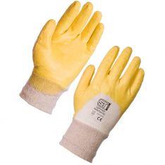 Supertouch Nitrile Lightweight Palm Dip Knit Wrist