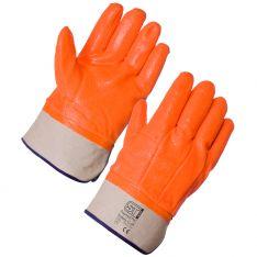 Supertouch Thermal PVC Hi Vis Gloves