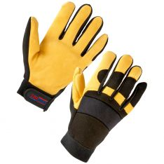 Supertouch Leather Mechanic Gloves