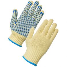 Supertouch Kevlar® Cut Resistant PVC Dot Gloves