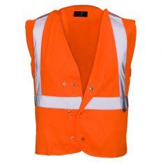Supertouch Hi Vis Orange Underground Tracker Vest