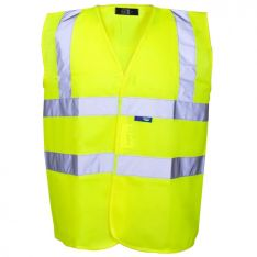 Supertouch Yellow Hi-Vis Vests Printers Pack