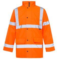 Supertouch Hi Vis Orange Standard Parka
