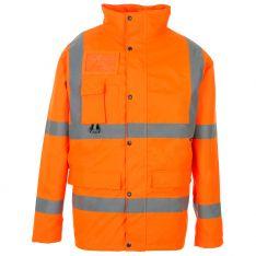 Supertouch Hi Vis Orange Breathable Jacket