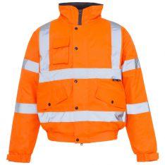 Supertouch Hi Vis Orange Standard Storm Bomber Jacket