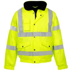 Storm-Flex® Hi Vis Yellow PU Bomber Jacket