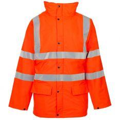 Storm-Flex® Hi Vis Orange PU Padded Parka