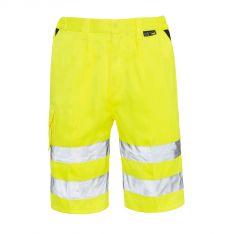 Supertouch Hi Vis Yellow Shorts