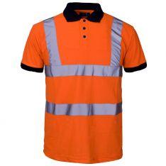Supertouch Hi Vis Orange Polo Shirt