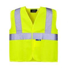 Supertouch Hi Vis Yellow Junior Vest