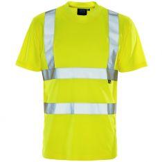 Supertouch Hi Vis Yellow Bird Eye T-Shirt