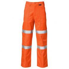 Supertouch Hi Vis Orange 2 Band Ballistic Trousers