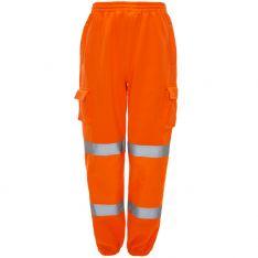 Supertouch Hi Vis Orange Jogging Bottoms