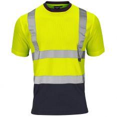 Supertouch Hi-Vis 2 Tone Yellow T-Shirt
