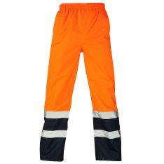 Supertouch Hi Vis Orange 2 Tone Overtrousers