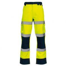 Supertouch Hi-Vis 2 Tone Yellow Combat Trousers