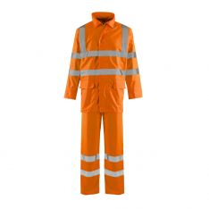 Supertouch Hi-Vis Orange Lite Rainsuit