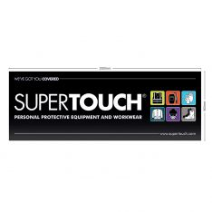 Supertouch Large PVC Waterproof Banner