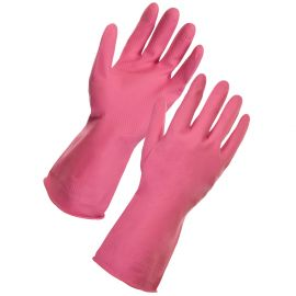Supertouch Household Latex Cleaning Gloves