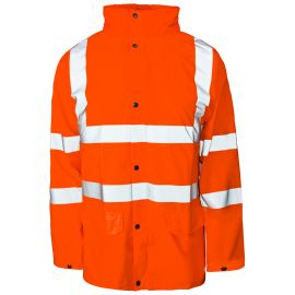 Storm-Flex® Hi Vis Orange PU Jacket
