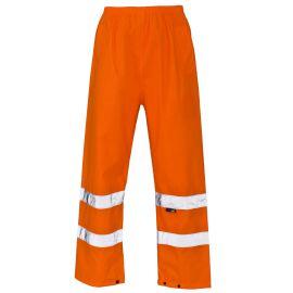 Supertouch Hi Vis Orange Overtrousers