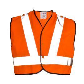 Supertouch Hi Vis Orange Mini Tracker Vest