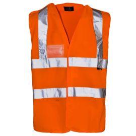 Supertouch Hi Vis Orange Pull Apart Vest