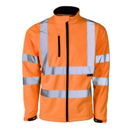 Supertouch Hi Vis Orange Softshell Jacket