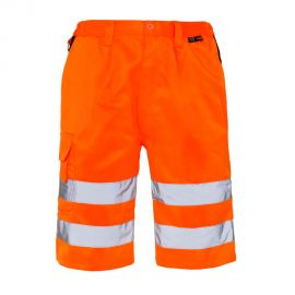 Supertouch Hi Vis Orange Shorts