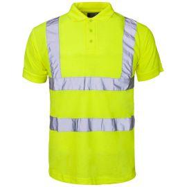 Supertouch Hi Vis Yellow Polo Shirt
