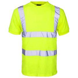 Supertouch Hi Vis Yellow T Shirt