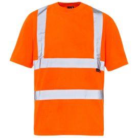 Supertouch Hi Vis Orange T Shirt