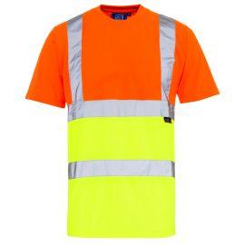 Hi Vis 2 Tone T Shirt