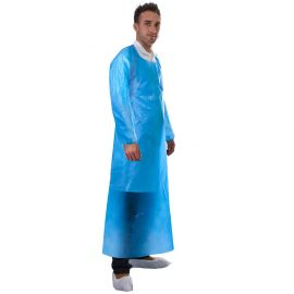 Supertouch PE Apron With Sleeves