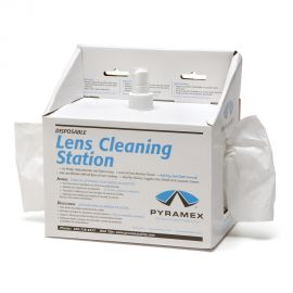 Pyramex Lens Cleaning Station - 600 tissues, Cleaning Fluid