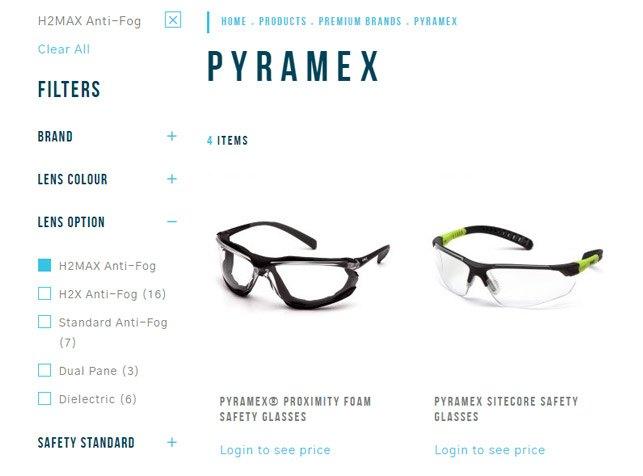 Pyramex Filters